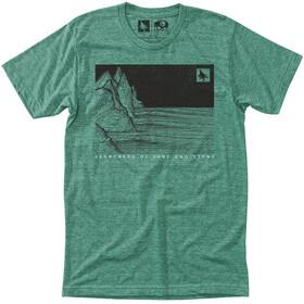 Hippy Tree Nightbreak Miehet Lyhythihainen paita , vihreä